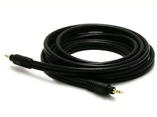 """10' Premium (1/8"""")3.5mm AUX Auxillary Cable Cord Male to Male Car Stereo Audio"""