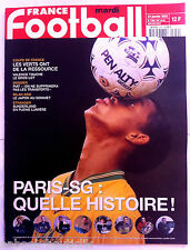 FRANCE FOOTBALL 23/01/2001; Paris-SG/ Piat/ Sunderland/ Japon/ Coupe de France