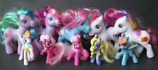 "LOT OF 10 MY LITTLE PONY FIGURES, 4.5"" & 3"" Figures"