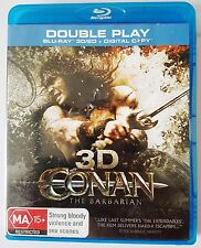 Movie / Film : CONAN The Barbarian (2011) Blu-Ray 2D & Blu-Ray 3D - Jason Momoa