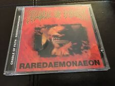 Cradle of Filth Raredaemonaeon CD Rare Covers Slayer Venom Sodom Iron Maiden