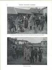 WW1 German Prisoners Fed And Watered And Interrogated