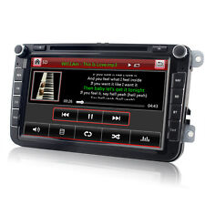 DVD GPS Autoradio für VW PASSAT TIGUAN GOLF 5 6 TOURAN Sharan POLO Caddy SEAT T5