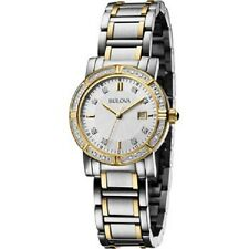 New Bulova 98R226 Two Tone Women's Watch - Free Shipping