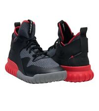 ADIDAS Tubular X Athletic Sneaker men's size 9 Black Red AQ8435 NEW