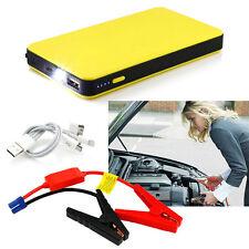 Yellow Jump Starter Car Battery Charger Mini Power Bank LED Light 12V HS