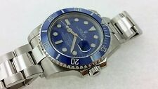 Rolex Submariner Date 116610 SS Inside Engraved Blue Ceramic Box Card Tag UNWORN