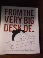 FROM THE VERY BIG DESK OF...: Business Cartoons by New Yorker Cartoonist Charle