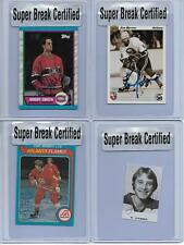 BOBBY SMITH MONTREAL CANADIENS 1989-90 TOPPS BASE AUTO 188 SUPER BREAK CERTIFIED
