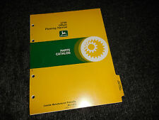 JOHN DEERE 2700 OFFSET PLOWING HARROW PARTS CATALOG PC-1373