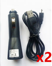 2x Car Charger Data Cable for Sony Xperia Z5 Z3 Z2 M5 M4 M2 E4g SP T2 Ultra PLAY