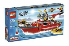 2010 RETIRED LEGO CITY FIRE 7207 FIRE BOAT, NEW & SEALED, GREAT GIFT