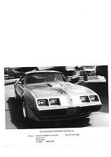 UK PONTIAC FIREBIRD TRANS AM PRESS PHOTO 1979 'BROCHURE RELATED'