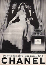 CHANEL 5 A1 poster for FRAME VINTAGE ADVERTISING LARGE B/W