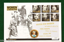 2007 Women of Distinction - Cover - Cook Islands Gold plated $1 coin - SNo38761