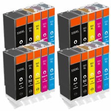 20 Ink Cartridges for Canon Pixma iP7250 iX6850 MG5550 MG6450 MX725