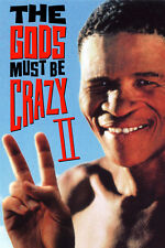 THE GODS MUST BE CRAZY II (1990 SOUTH AFRICA) DVD COMEDY BUSHMEN