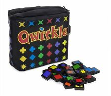 Qwirkle Travel Edition!  Now qwirkle takes up less space and weighs less!  New!