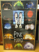 Pink Floyd 1994 live Poster original  unused but not perfect #6129
