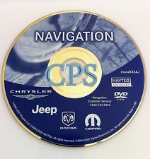 2011 Update 2004 2005 2006 2007 Town Country 300C PT Cruiser Navigation DVD Disc