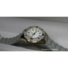 Invicta 1616 Angel Collection 30mm Quartz White Dial Grey Silicone Women's Watch