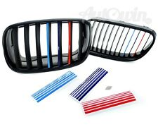 BMW 1 Series E87 Grill Stickers SET M Sport Grille Stripe Decal NEW 3x6 Stickers