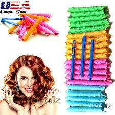 20PCS 55cm 65cm DIY Hair Rollers Magic Circle Curlers Large Wavey Curls Salon