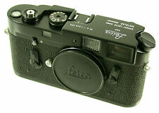 M4 LEITZ Wetzlar Leica m-4 BLACK PAINT VERNICE NERO ma ORIGINALE leggere but read