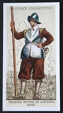 English Pikeman    Trained Bands of London     Vintage Uniform Card ## VGC