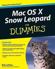 Mac OS X Snow Leopard For Dummies (For Dummies (Computer/Tech))-ExLibrary