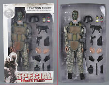 "12"" Jungle ACU Special Forces Soldier Super System Model 1/6 Figure Cosplay Toys"