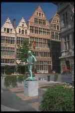 369008 The Arbeid Vrijheid Statue Antwerp A4 Photo Print