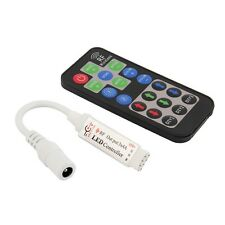RF 19 Key Wireless Remote Controller DC For RGB 3528 5050 LED Strip Light BE