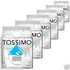 6 x Tassimo Milk Creamer T disc Capsules - For Black Coffee 6 Packs, 96 T-disc