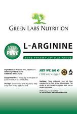 L-Arginine Powder 908g Arginine Pharmaceutical Free Form Pure FREE P&P