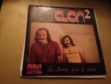"CLAN 2 - LA TARDE QUE TE AME 7"" SINGLE PROM0CIONAL"