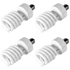4x 45W 5500K Photo Studio Light Bulb Video Daylight Compact CFL Fluorescent Lamp