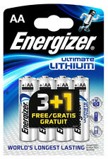 4x ENERGIZER ULTIMATE LITHIUM AA BATTERIEN MN1500 LR6 MIGNON - OVP - NEU