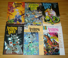 Anything Goes #1-6 VF/NM complete series ALAN MOORE usagi yojimbo KIRBY & TMNT