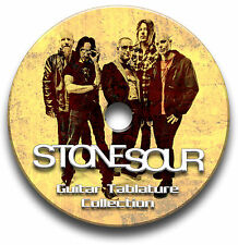 STEIN SAURE ROCK METAL GITARRE ETIKETTEN TABLATURE LIED BUCH SOFTWARE CD