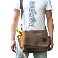 Muzee Canvas Vintage Washed Military Messenger Shoulder Bag Shoulder strap bag