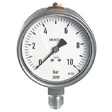 "100 mm safety manometer 0/2,5 bar G 1/4"" STAINLESS STEEL"