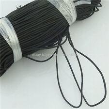 16117 8yd Black 1.2mm Round Elastic String Cord Beading & Crafts Shock Cord