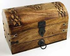 Celtic Cross Treasure Chest Box Ritual Trinket Wicca Tarot Herbs Altar Jewelry
