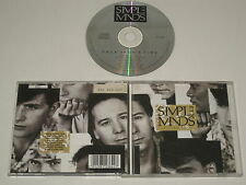 SIMPLE MINDS/ONCE UPON A TIME(CDV 2364/VIRGIN) CD ALBUM
