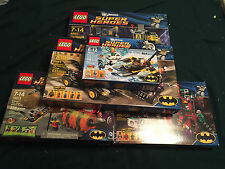 LEGO SETS # 6860, 6857, 6864, 76000, 76013 BATMAN JOKER NEW IN SEALED BOXES