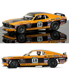 Scalextric SLOT CAR c3671 Ford Mustang Boss 302 1969-JOHN BOWE