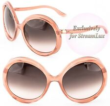 JIMMY CHOO Fashion Oversized Antique Pink Sunglasses MINDY-S 23HK8