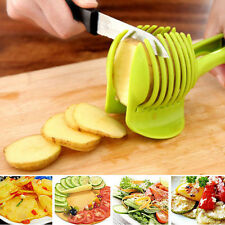 New Slicer Egg Holder Cutter Peel For Potato Tomato Onion Lemon Vegetable Fruit