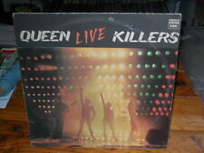 QUEEN Live Killers ARGENTINA '79 double LP no laminated SPANISH TT VG innersleev